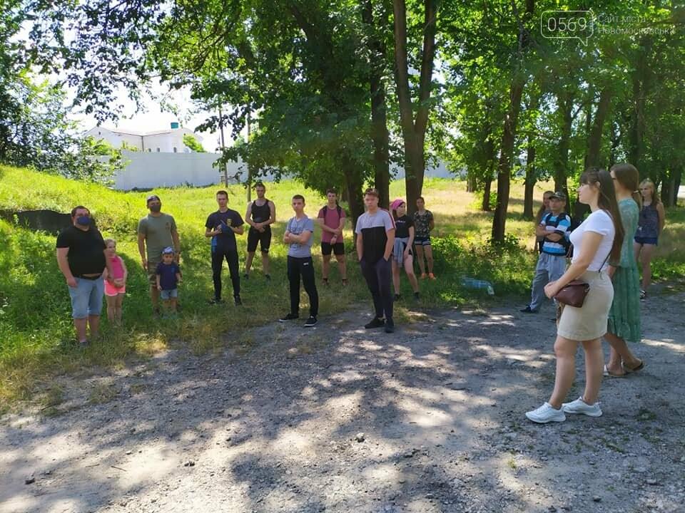 На Новомосковщині пройшов перший літній екотабір Summer camp '20, фото-7