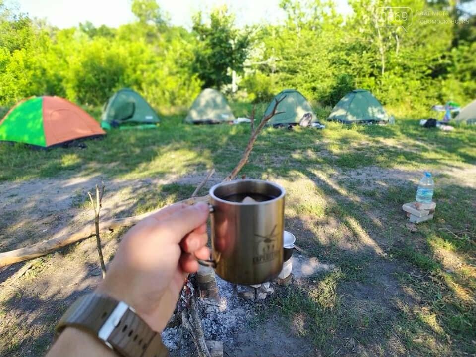 На Новомосковщині пройшов перший літній екотабір Summer camp '20, фото-8