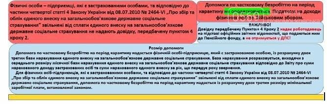 Новомосковський центр зайнятості повідомляє: ФОП без найманих працівників має право отримати допомогу по частковому безробіттю, фото-2