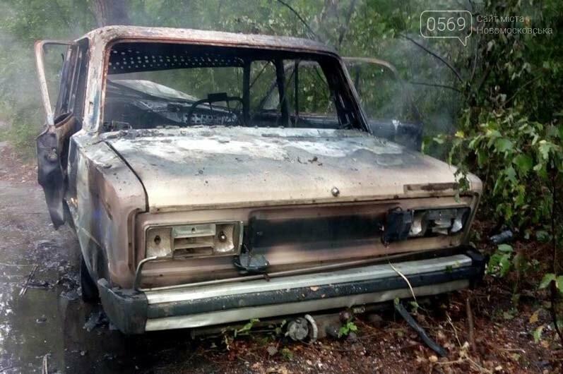 В селі Орлівщина Новомосковського району загорілася автівка, фото-3