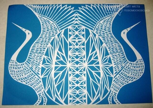 До Всеукраїнського етапу конкурсу декоративного  мистецтва потрапили 11 робіт учнів шкіл Новомосковська, фото-10