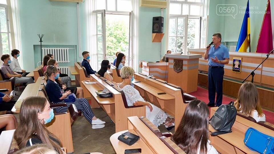 У Новомосковську традиційно вшанували відмінників навчань та переможців олімпіад, фото-2