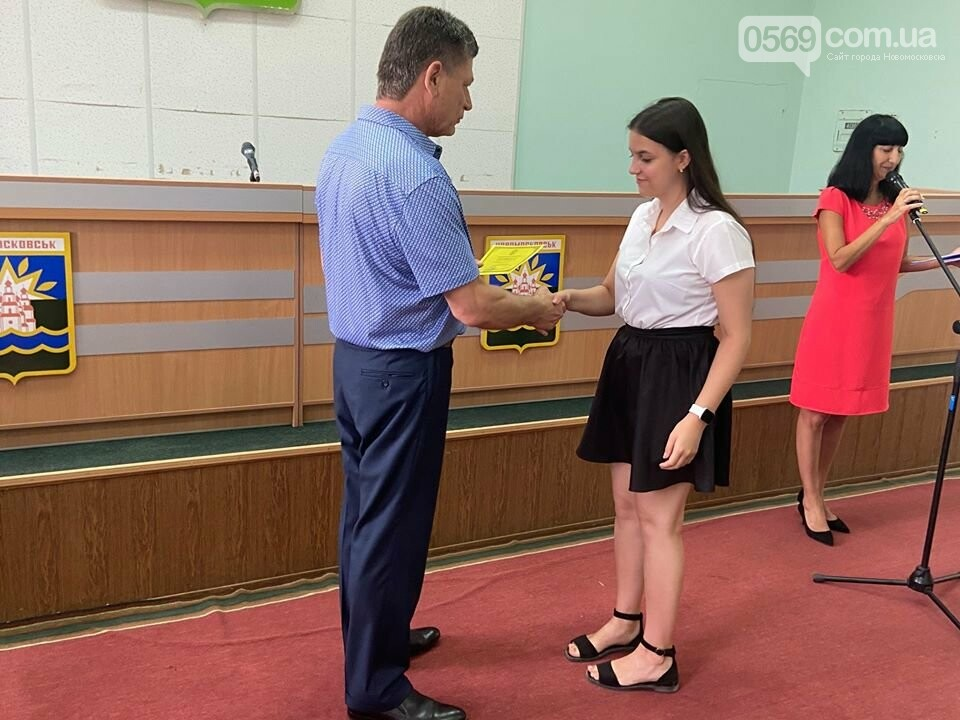 У Новомосковську традиційно вшанували відмінників навчань та переможців олімпіад, фото-3