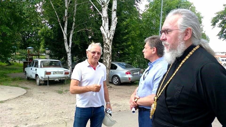 Роботи з ремонту та реставрації  Новомосковського Свято-Троїцького Собору планують завершити наступного року , фото-1