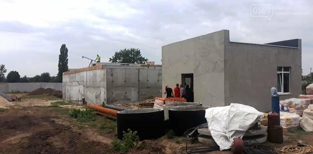 На новозбудовану насосну станцію в Орлівщині, що на Новомосковщині,  почали закачувати воду, фото-1