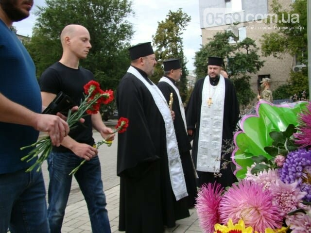 У Новомосковську вшанували пам'ять загиблих в «іловайському котлі» земляків, фото-3