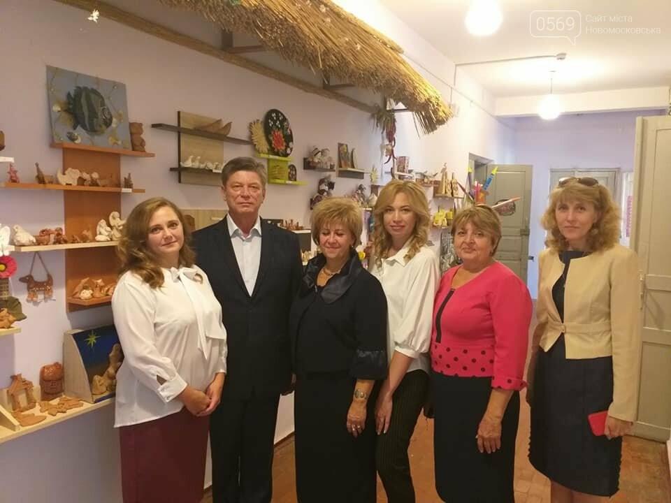В ЗОШ № 4 міста Новомосковська облаштують гончарну художню майстерню, фото-3
