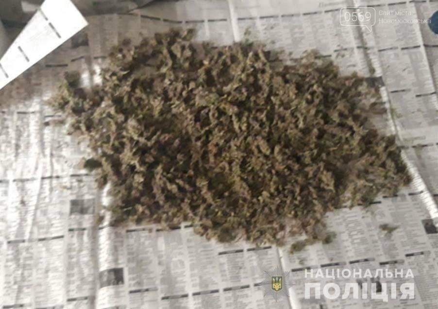 Правоохоронці Новомосковського ВП вилучили наркотики та пристрої для вживання наркозасобів, фото-2