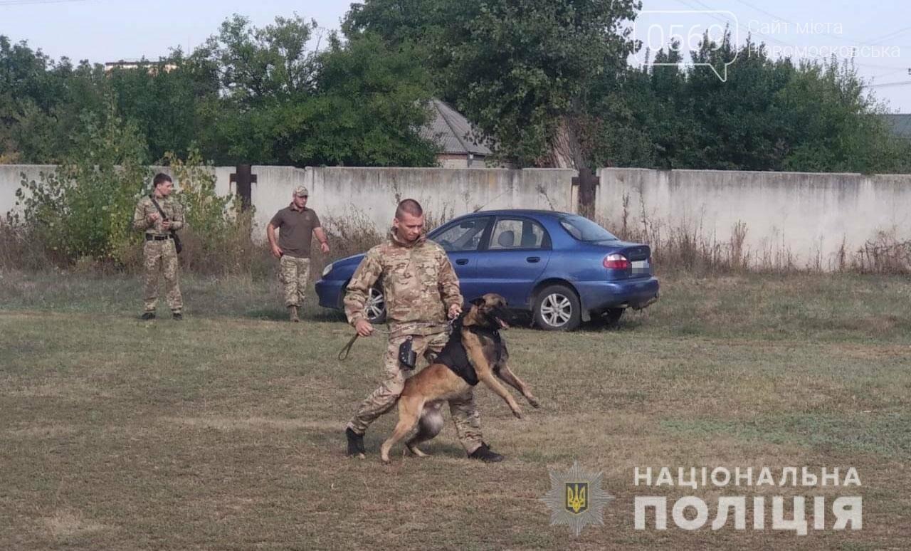 У Новомосковську поліцейські кінологи та їх вихованці взяли участь у показових виступах службових та охоронних собак, фото-3