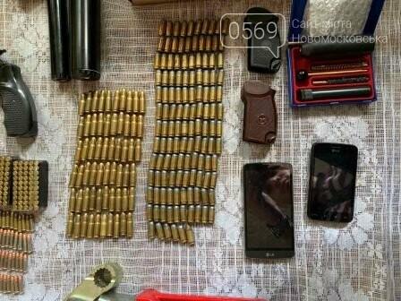 Мешканець Новомосковська зберігав у своєму будинку цілий арсенал зброї, фото-2