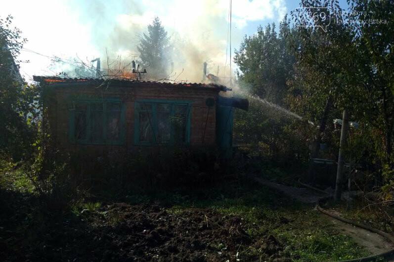 У Новомосковському районі горів дачний будинок, фото-1