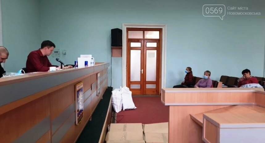 Вибори - 9.30 ранку: Новомосковська територіальна комісія продовжує приймати протоколи з виборчих дільниць, фото-1