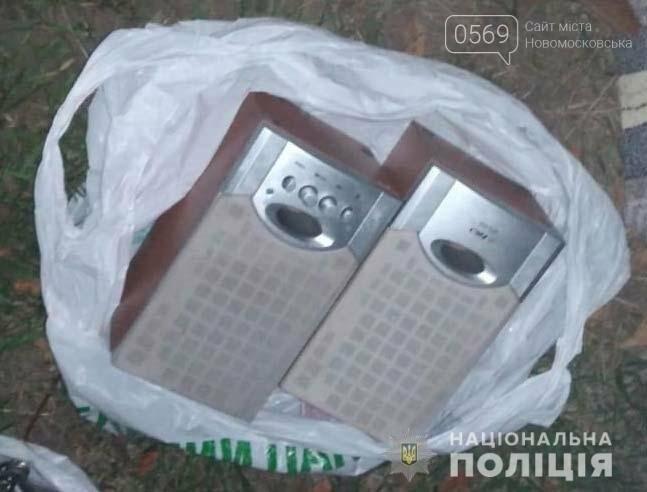 У Новомосковську поліцейські затримали серійного крадія , фото-1