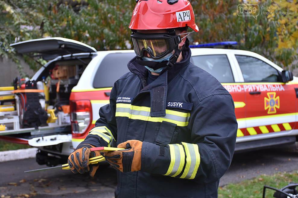 Рятувальники Новомосковська отримали спеціальний аварійно-рятувальний автомобіль легкого типу (ФОТО), фото-7