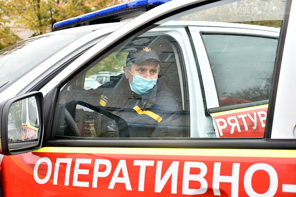 Рятувальники Новомосковська отримали спеціальний аварійно-рятувальний автомобіль легкого типу (ФОТО), фото-8