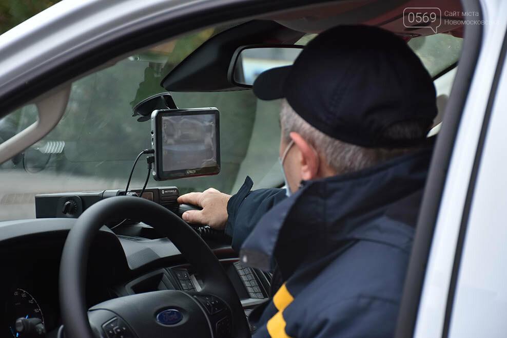 Рятувальники Новомосковська отримали спеціальний аварійно-рятувальний автомобіль легкого типу (ФОТО), фото-9