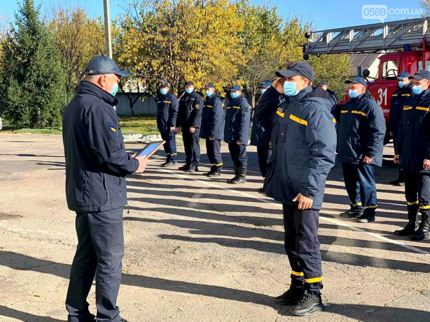 Новообраний очільник Новомосковська взяв участь у виїзній нараді в місцевій пожежно-рятувальній частині, фото-1