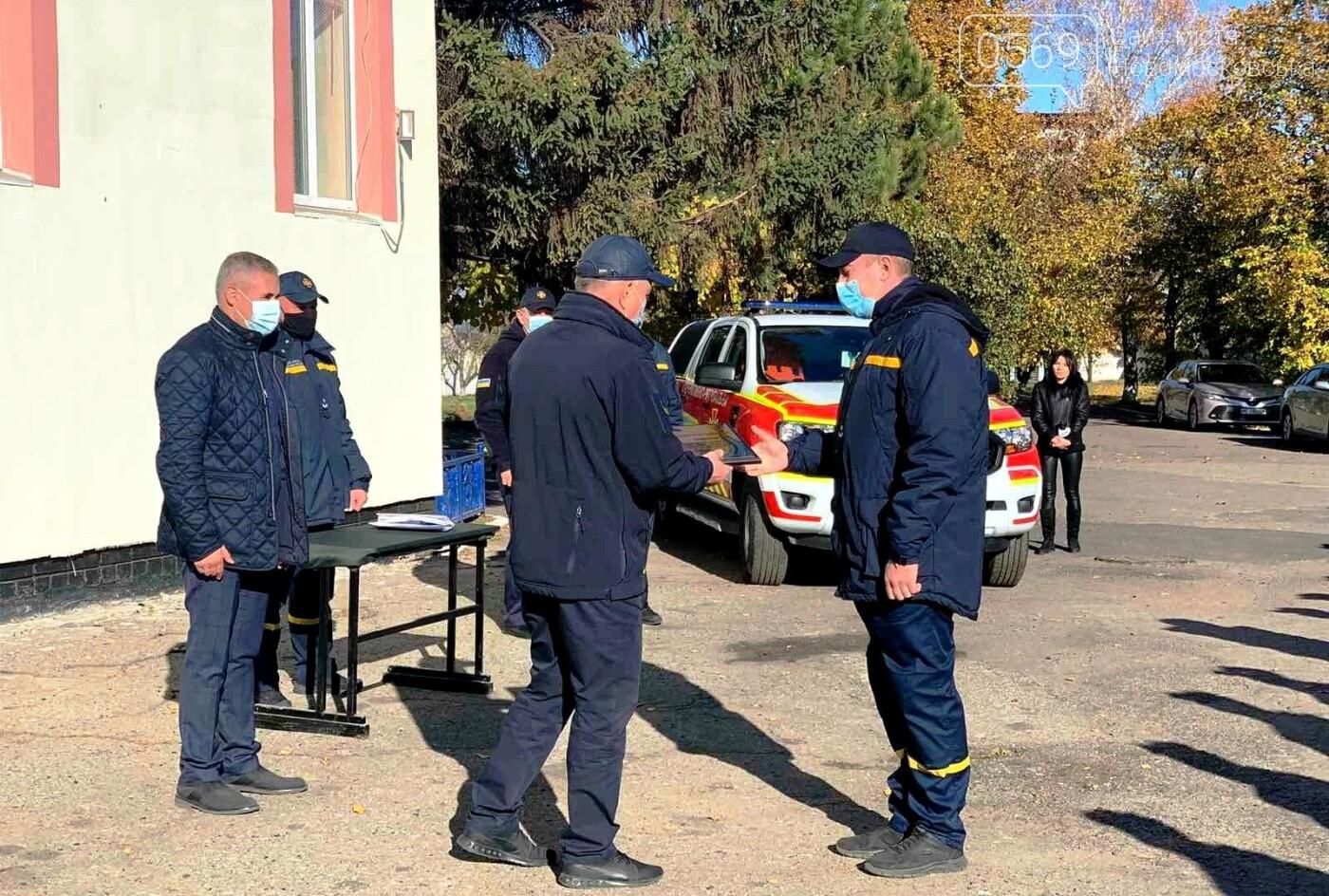 Новообраний очільник Новомосковська взяв участь у виїзній нараді в місцевій пожежно-рятувальній частині, фото-3
