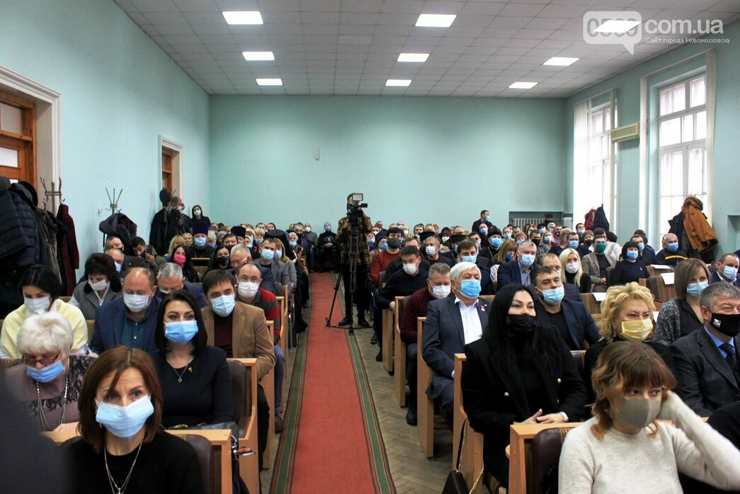 Новообраний мер Новомосковська склав присягу: та інші результати І-ї сесії, фото-19