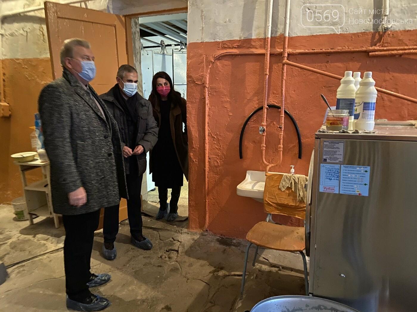 Міський голова Новомосковська з робочим візитом відвідав центральну лікарню, фото-3