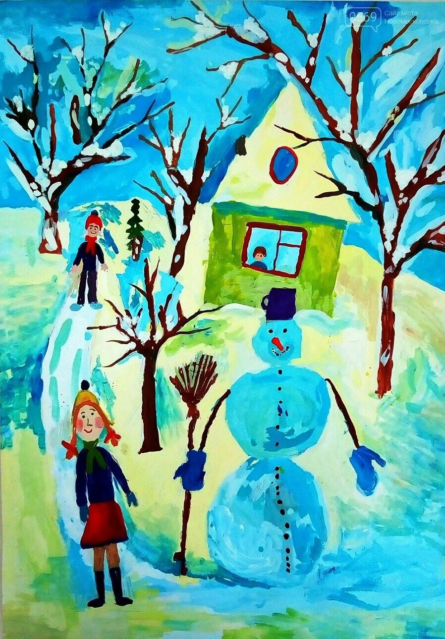 """У Новомосковській мистецькій школі пройшла виставка творчих робіт """"Різдвяні візерунки"""", фото-9"""