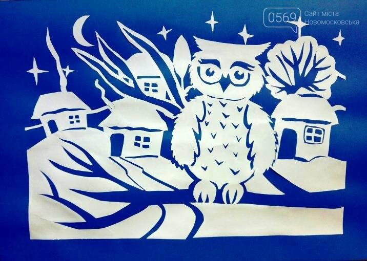 """У Новомосковській мистецькій школі пройшла виставка творчих робіт """"Різдвяні візерунки"""", фото-3"""