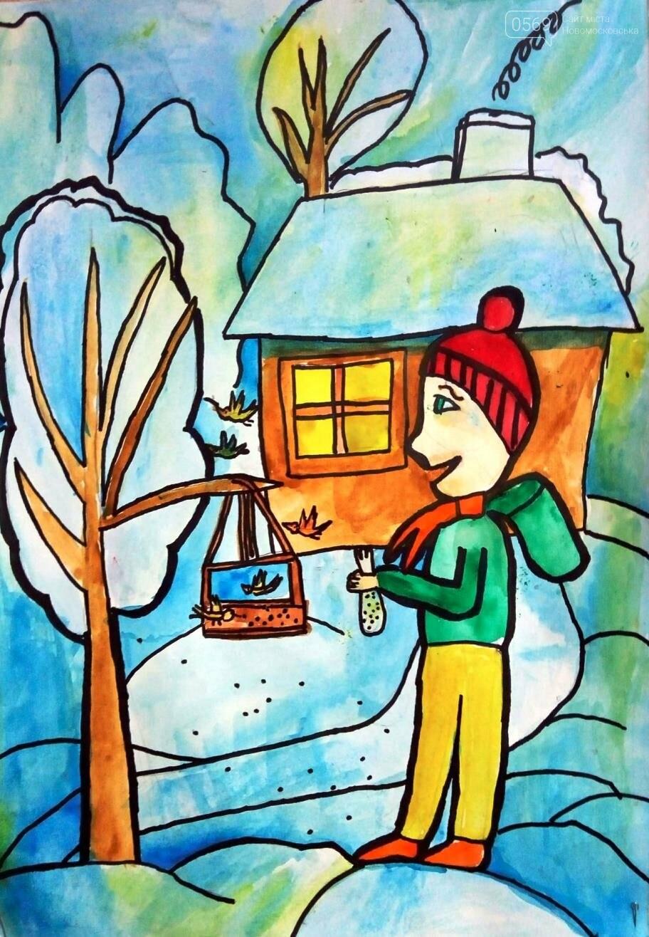 """У Новомосковській мистецькій школі пройшла виставка творчих робіт """"Різдвяні візерунки"""", фото-5"""