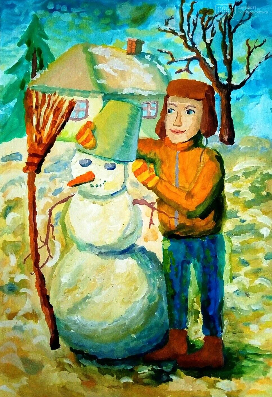 """У Новомосковській мистецькій школі пройшла виставка творчих робіт """"Різдвяні візерунки"""", фото-4"""