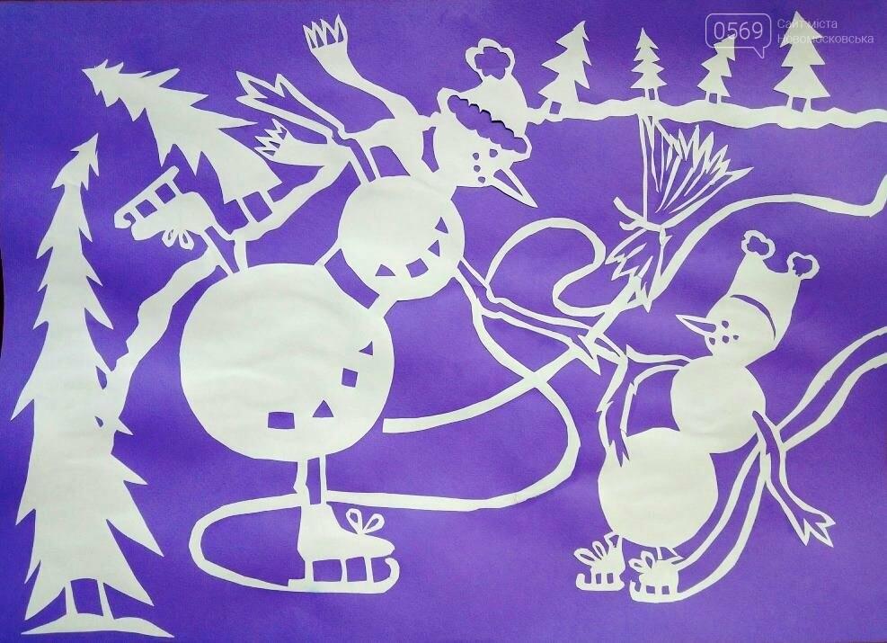 """У Новомосковській мистецькій школі пройшла виставка творчих робіт """"Різдвяні візерунки"""", фото-13"""