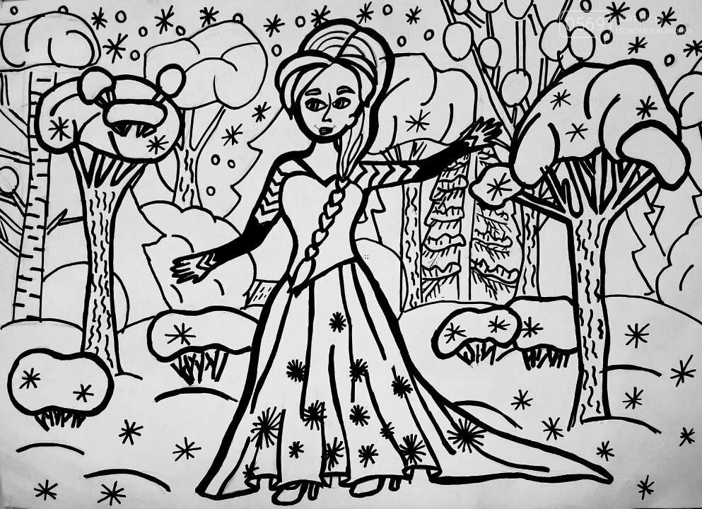 """У Новомосковській мистецькій школі пройшла виставка творчих робіт """"Різдвяні візерунки"""", фото-12"""