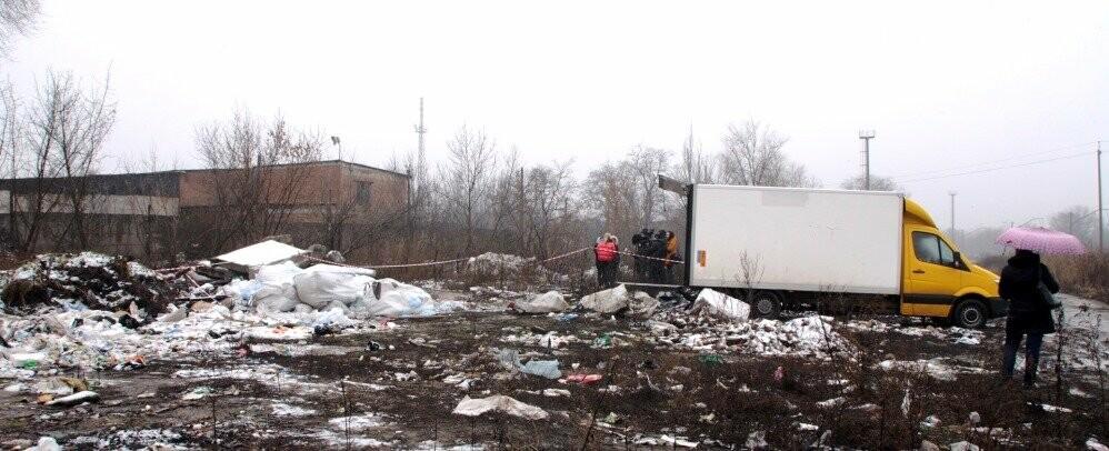 Знайдені тюки зі шприцами утилізують коштом бюджету Новомосковська, фото-2