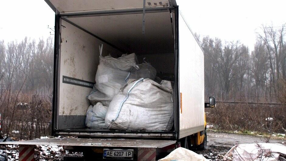 Знайдені тюки зі шприцами утилізують коштом бюджету Новомосковська, фото-1