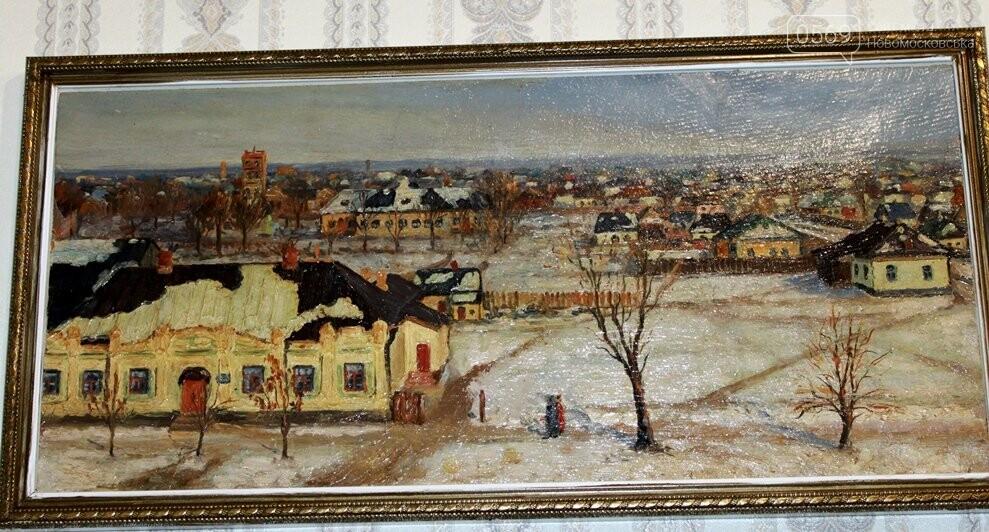 У Новомосковському історичному музеї відкрилася виставка картин «Міський романс», фото-5