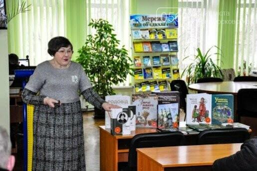 На черговому засіданні клубу любителів історії у Новомосковську говорили про Трипілля, фото-3