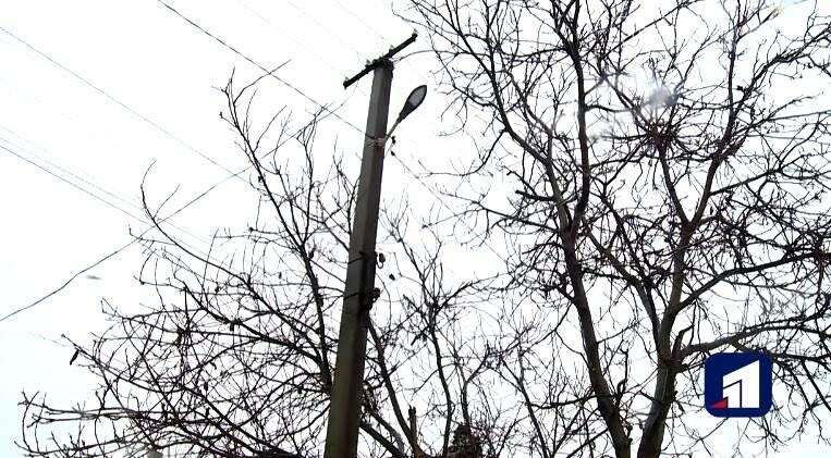 """На одній з вулиць Новомосковська вперше за сорок років з""""явилися ліхтарі, фото-1"""