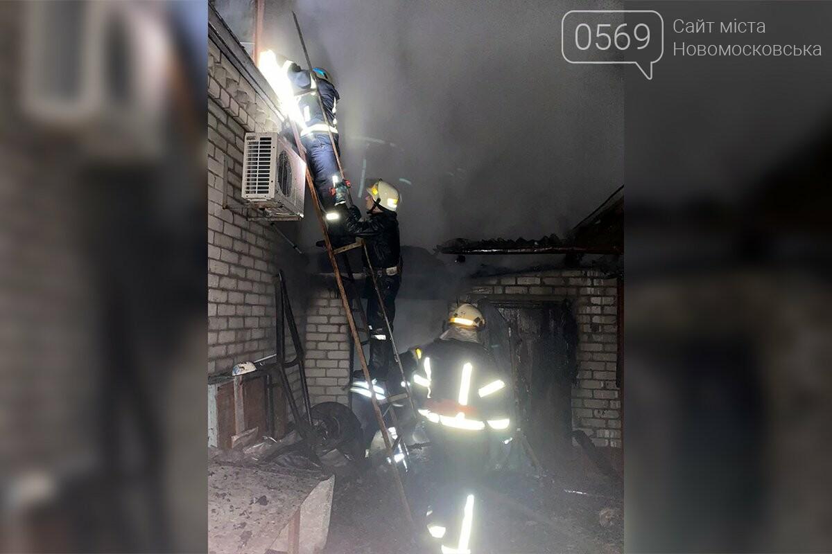 У Новомосковську вогнеборці ліквідували займання господарчої споруди, фото-2