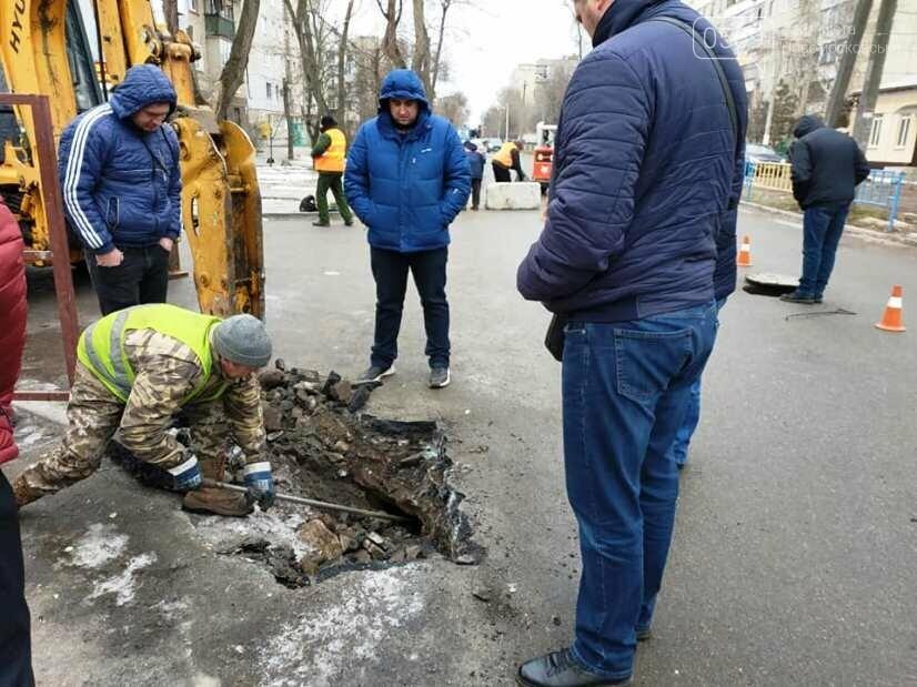 Через аварійні роботи проїзд однією з вулиць Новомосковська обмежили, фото-2