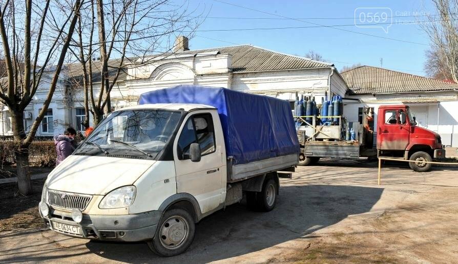 ІНТЕРПАЙП НМТЗ передав Новомосковській ЦМЛ 10 кисневих балонів, фото-1