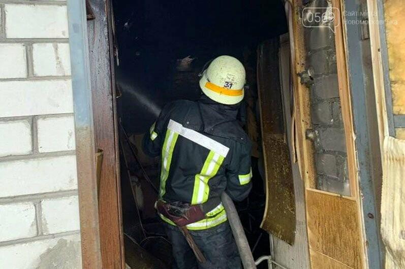 У Новоселівці Новомосковського району загорілася лазня в приватному домоволодінні, фото-2