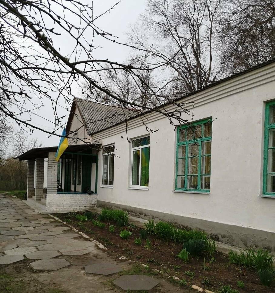 Учні школи, що в Андріївці Новомосковського району, навели лад біля свого навчального закладу , фото-6