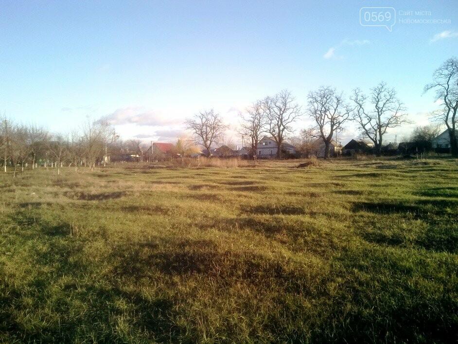 У Новомосковську на території колишнього кладовища планують розбити сквер, фото-1