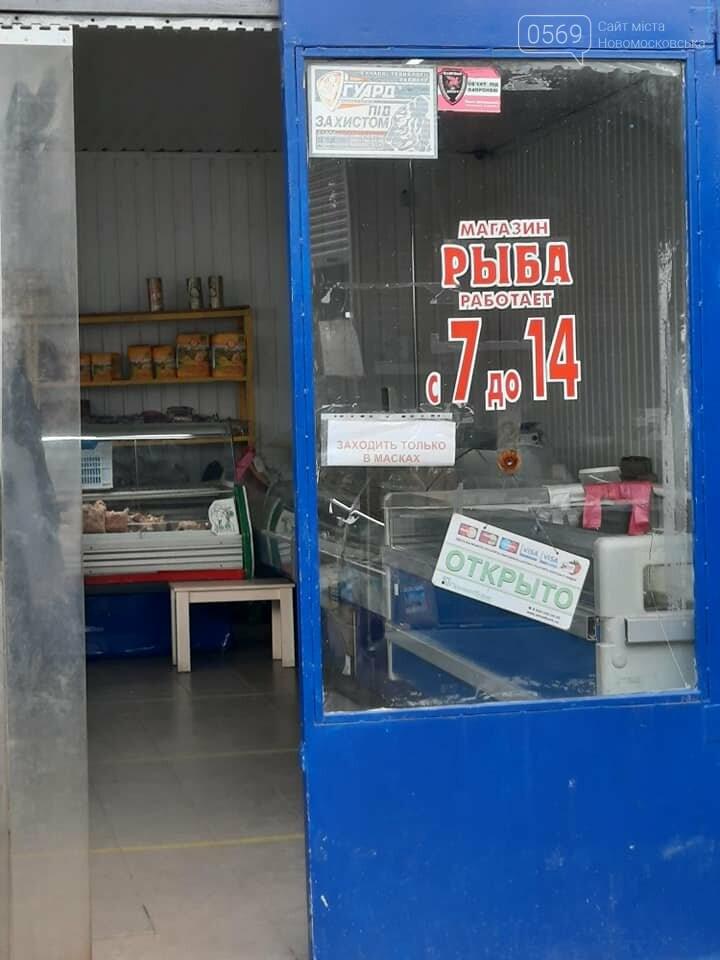 Продавців риби на центральному ринку Новомосковська перевірили на наявність дозвільних документів, фото-5