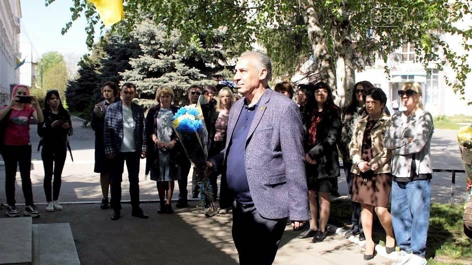 У Новомосковську поновили Меморіальну дошку Микиті Головку, фото-1