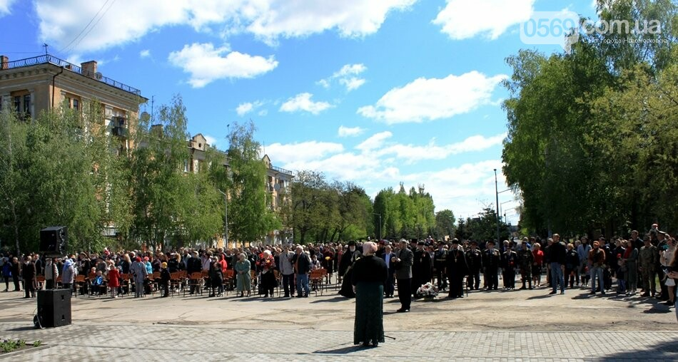"""Новомосковці пам""""ятають: у місті пройшов урочистий мітинг, присвячений Дню Перемоги - ФОТОРЕПОРТАЖ, фото-27"""