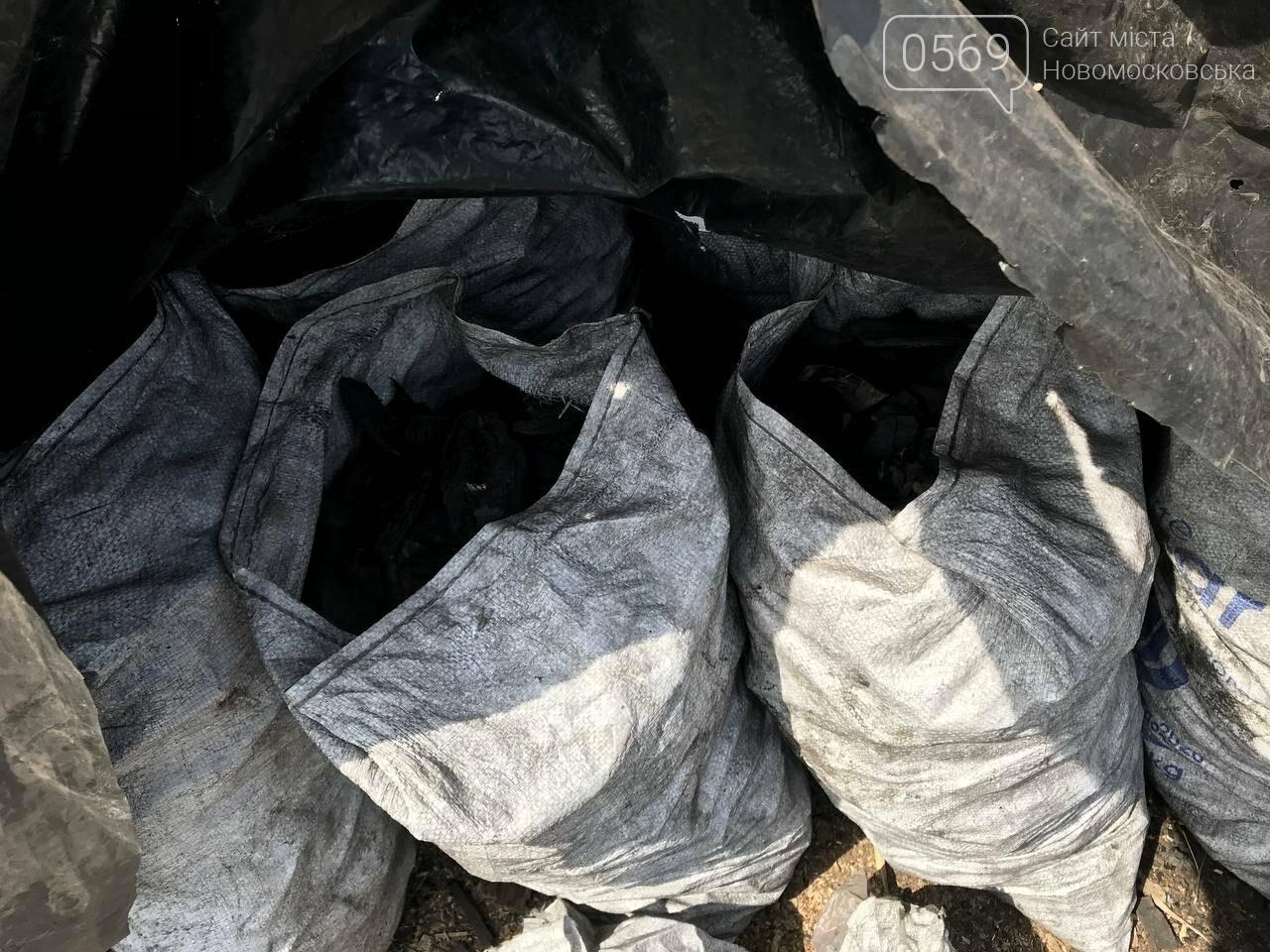 У Новомосковську відкрили кримінальне провадження по факту підпільного виробництва деревного вугілля, фото-5