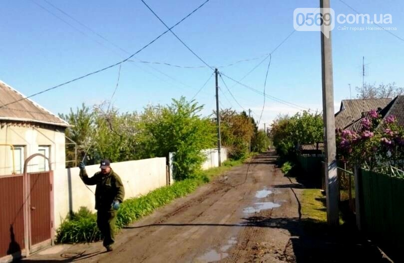 На одній з вулиць Новомосковська відновили освітлення, фото-2