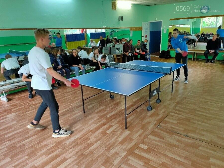 Визначилися переможці турніру з настільного тенісу серед школярів у місті Новомосковську, фото-4