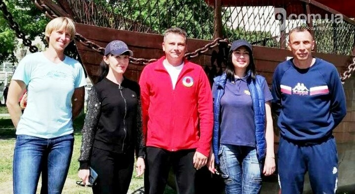 У Новомосковську розпочав роботу соціальний проект «Активні парки – локації здорової України». , фото-1