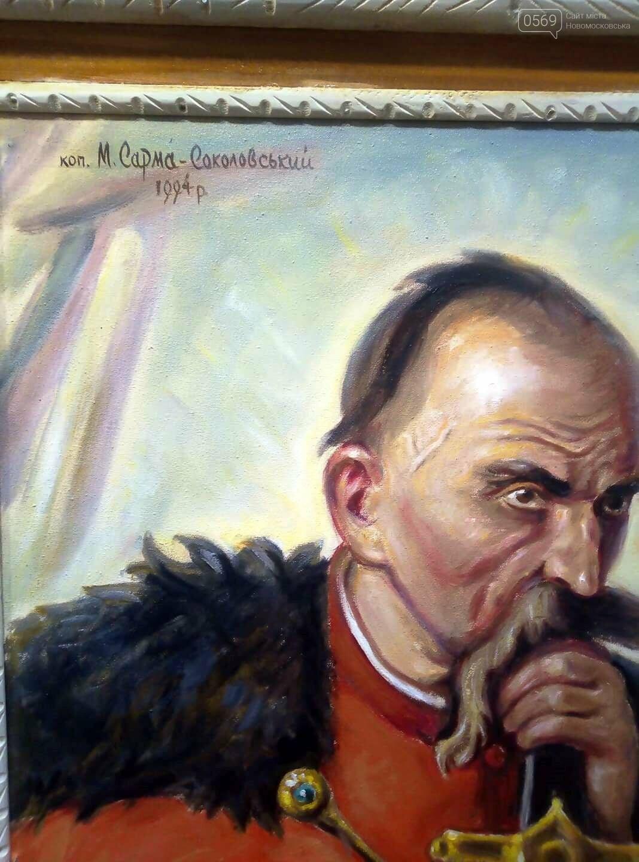 У Новомосковському історичному музеї презентували виставку картин Миколи Сарми-Соколовського , фото-9