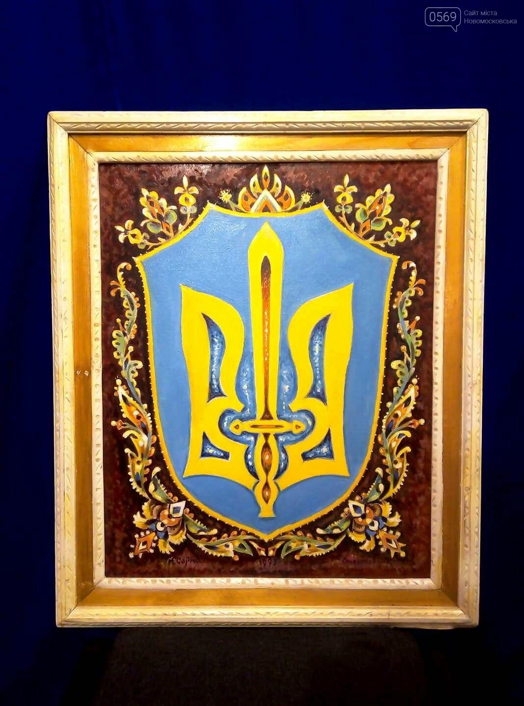 У Новомосковському історичному музеї презентували виставку картин Миколи Сарми-Соколовського , фото-8